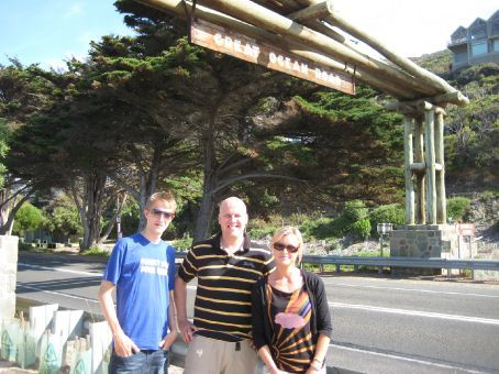 Myself with Nick and Katie who travelled together for a while from Sydney through Melbourne and on to Adelaide
