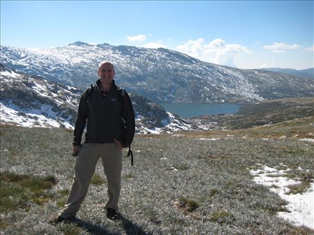 The Blue Lake in the Snowry Mountains after a nice 5km walk...