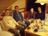 Hanging out with friends.  (Peter, Alessandro, Kristin, Rob): by smartin1978, Views[493]