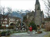 Shannon in front of a Japanese Garden, in Interlaken, Switzerland.: by smartin1978, Views[337]