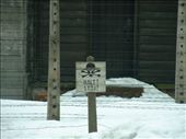 To disobey this sign meant instant death. : by smartin1978, Views[620]