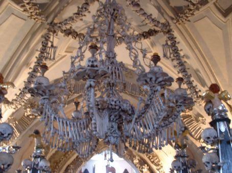 The bone chandelier.
