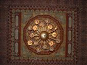 Amzazing ceiling art in a building in Fez: by smartin1978, Views[705]