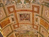 Ceiling of a gallery in the Vatican Museum: by smartin1978, Views[573]