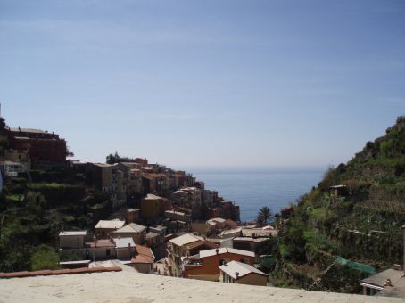 Town of Vernazza in the Cinque Terre