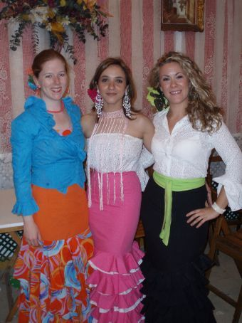 Shannon, Esther, and Carolin