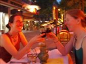 Brooke and Shannon drinking wine in Paris: by smartin1978, Views[483]