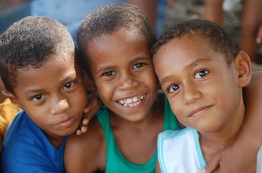 The People Of Fiji With Their Every Ready Smile And Twinkle
