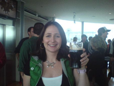 At the Gravity Bar, Guiness Factory, Dublin Ireland - Sept 07
