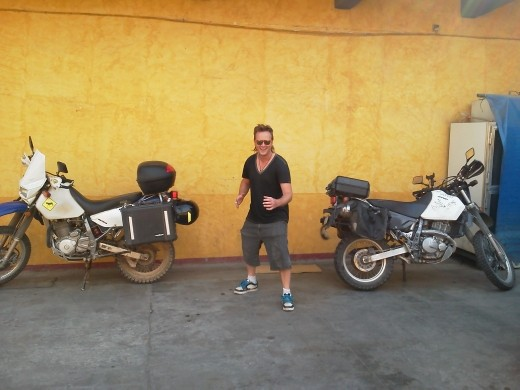 '03 & '12 DR650's & Mike