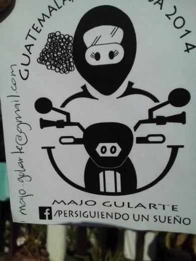 Majo's sticker