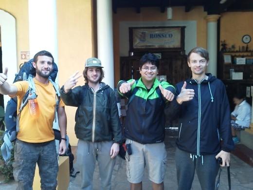 Alvaro, Andrea, Jonathan & Julius