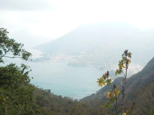 First view of Lake Atitlan.