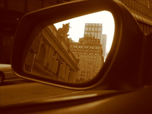 Reflections in the Mirror: New York - Central Station