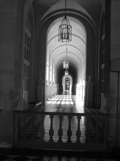 Reflections of Lights v Shadows: Inside the Versailles Palace
