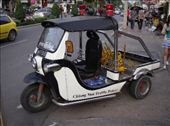 Police TukTuk outside Kad Suan Kaew Shopping Mall, Chiang Mai: by solo_rhodes, Views[784]