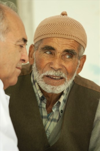 THE PEOPLE – An Anatolian villager chats with the dentist from Istanbul.