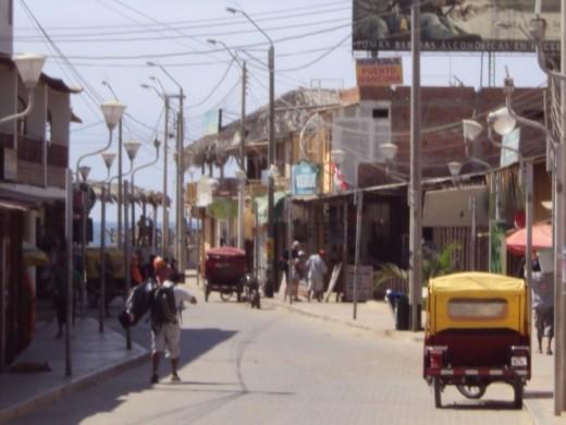 Mancora, Peru.
