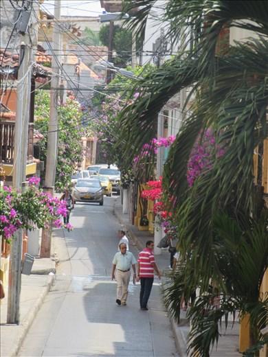 Old Town Cartagena.