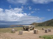 Incan sacrifice table on Isla del Sol: by spencerhoneyman, Views[348]