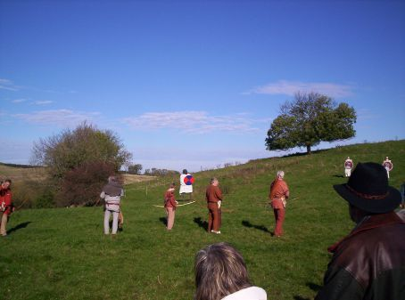 Archery demonstration