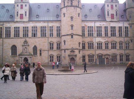 centeral courtyard