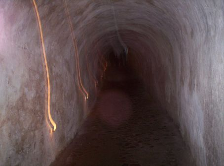 Tunnel leading through the casement, down below the kings appartment to his stables for quick exits