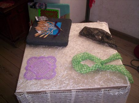 examples of the stuff the crafters were making