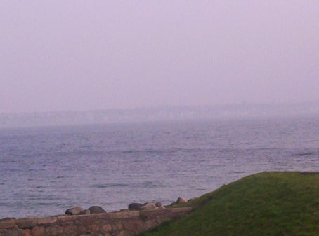 cant see sweden from this far away