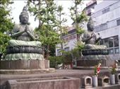 two statues carved in honour of a workers employer and his son, in order to square his debts: by spongey, Views[152]
