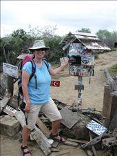 Me at Post Office Bay, Floreana Island: by sregevig, Views[3527]