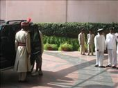 Dressed up Indian dudes outside Leela: by sreisinger, Views[169]