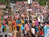 Crowd at border closing ceremony: by sronb, Views[245]