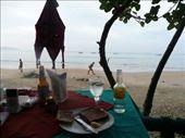 Goan breakfast- toast and G&T!: by sronb, Views[222]