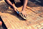 Even with wounds the workers in Dholaikhal sincerely cleans the old metal: by sssharna, Views[115]