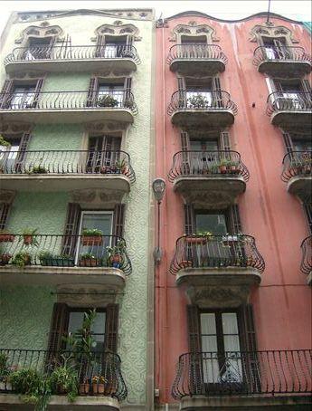 Apahtments in Bahcelona.