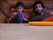 4 year old Didac and the nintendo. And me.: by sstolper, Views[326]