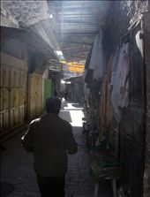 There are lots of good photo opportunities but number 1, I don't want to objectify Arab shop owners, and number 2, I don't want to advertise that I'm a tourist.: by sstolper, Views[473]