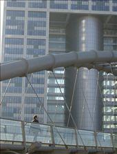 Pedestrian bridge meets Ministry of Defense. : by sstolper, Views[309]