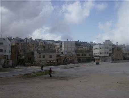 One day there will be a Rucker Park-type basketball court right here in the heart of Hebron, if my hopes mean anything.