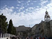 Manger Square, Bethlehem; Church of the Nativity; Jesus' Birthplace; etc. Holy Land churches have a way of being beautiful in a dank, musty, ancient kind of way.: by sstolper, Views[345]