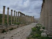 Jerash Colonnade. One of the cities of the Roman Decapolis in Greater Palestine.: by sstolper, Views[519]