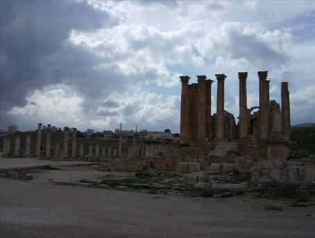 One of multiple Temples of Artemis in the world. Jerash, Jordan.