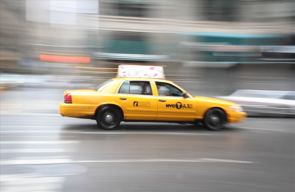 Having a coffee outside my hotel, I noticed the taxis constantly driving, honking, and working. It went out of my mind and I went about my day. That night I was in Times Square and noticed the same thing, which these taxis, and drivers never stop. I used a panning motion to portray that these workers never stop.
