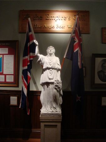 This is another pic from Auckland museum.  This one is a memorial from the Boer war.