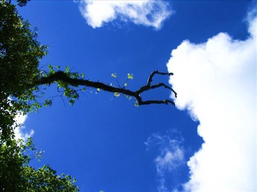 Holding back a cloud