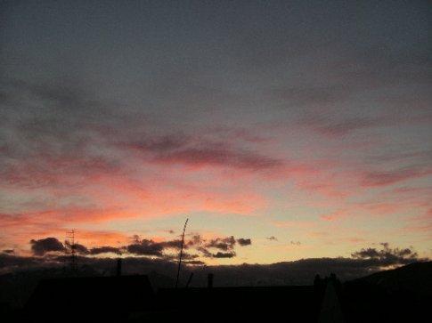 Sonnenuntergang / Ushuaia