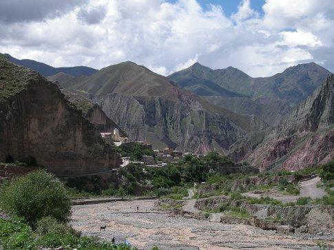 das Dorf Iruya