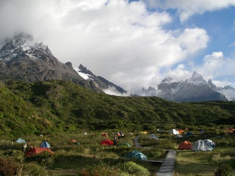 Camping / Torres del Paine