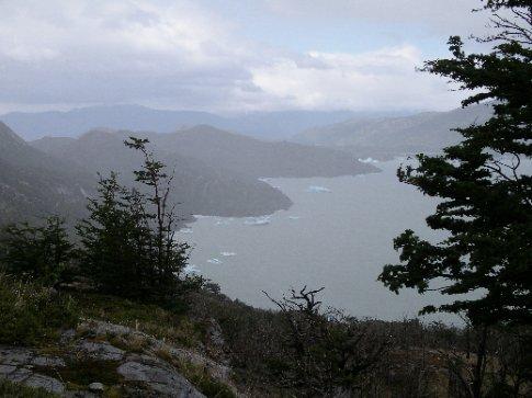 Eisbrocken vom Getscher / Torres del Paine